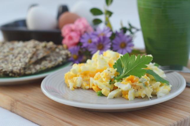 frukost ägghack