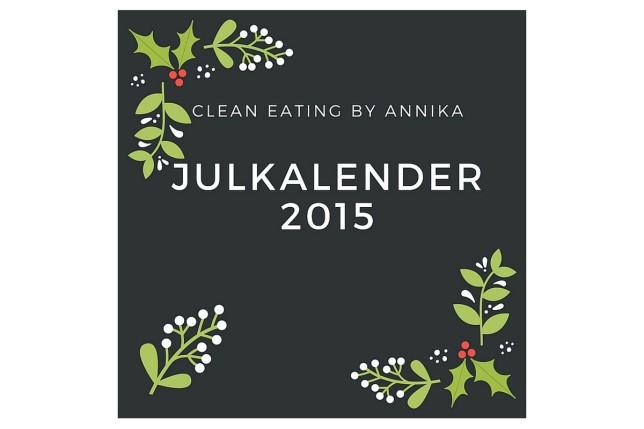clean eating julkalender