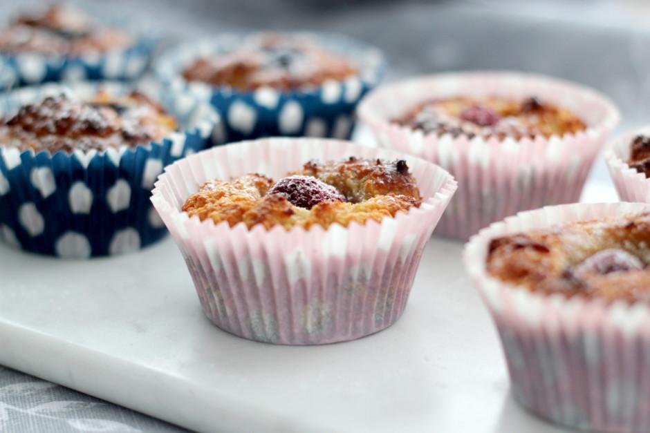 glutenfria hallonmuffins