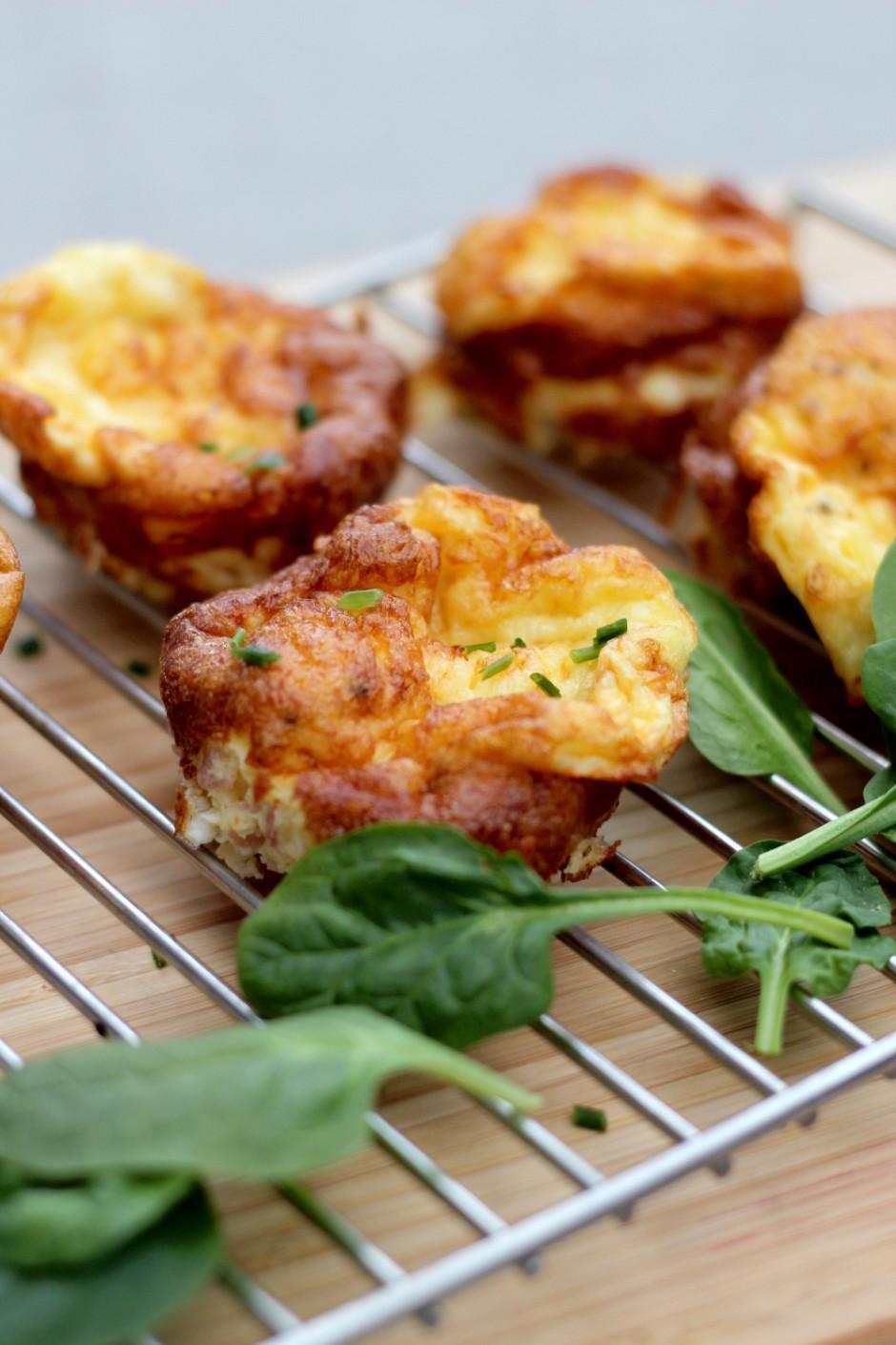 proteinrika äggmuffins