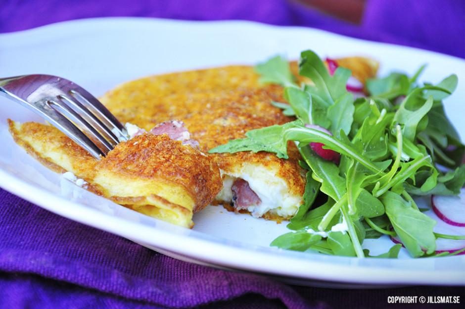 ostpanerad omelett