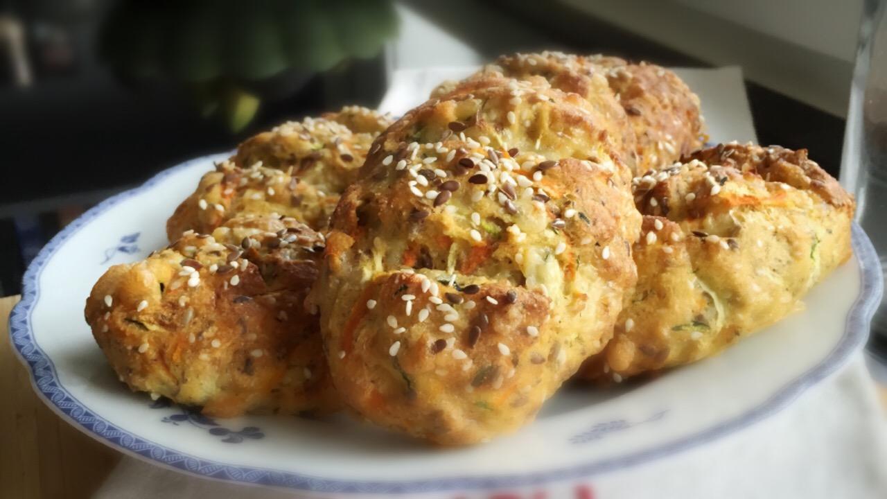 zucchini bröd frallor lchf paleo glutenfri