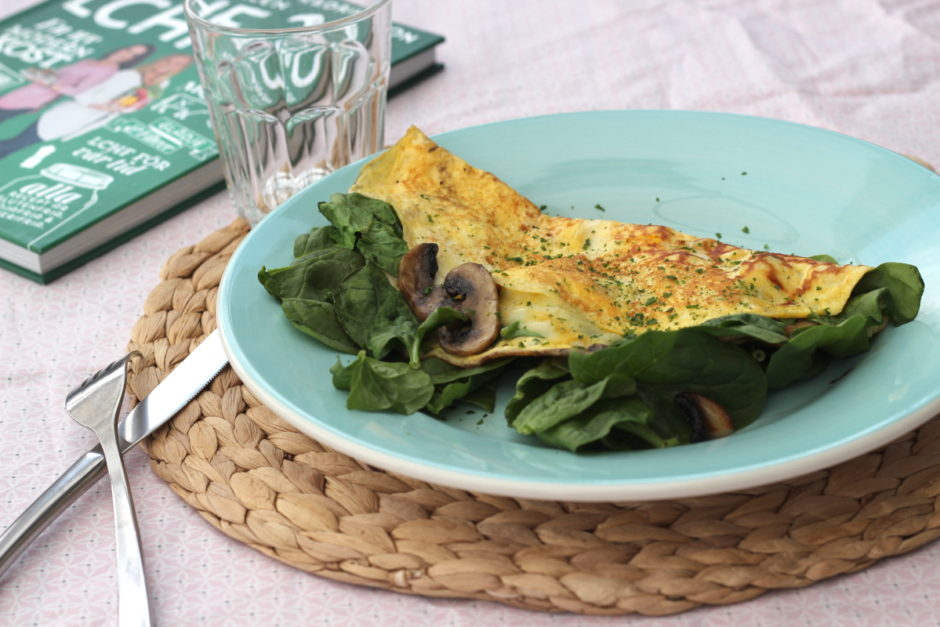 Omelett - perfekt både som frukost och lunch.