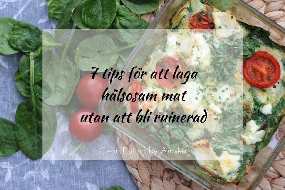7 tips för att laga hälsosam mat utan att bli ruinerad
