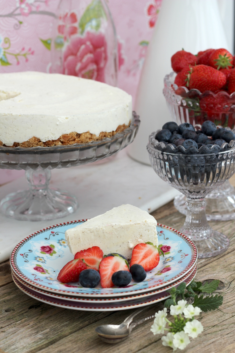 cheesecake med bär