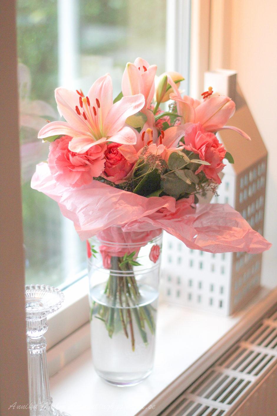 Vackra blommor från mina arbetskamrater