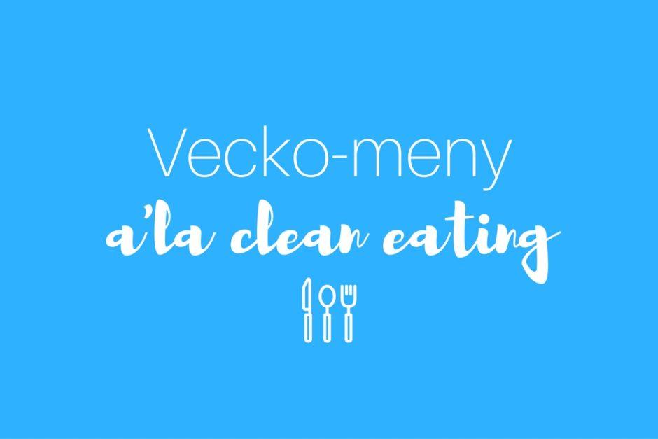 vecko-meny