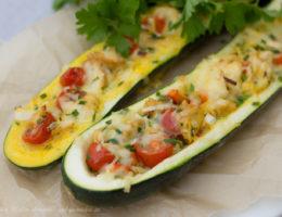 fylld zucchini paleo lchf kyckling