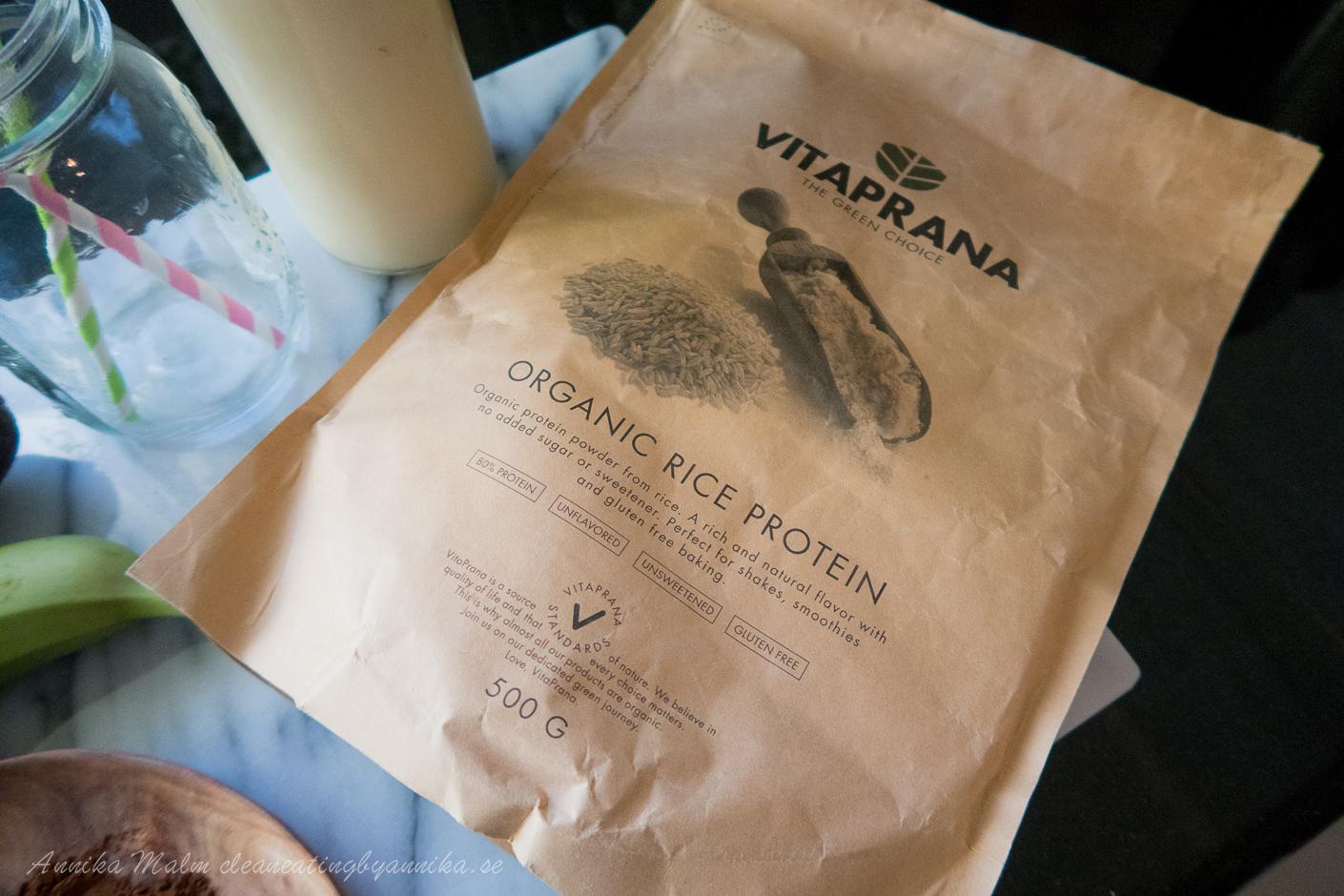 ekologiskt proteinpulver
