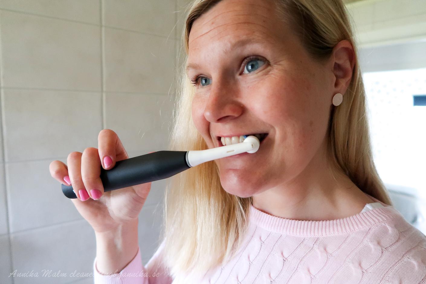 borsta tänder