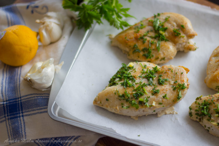 Kyckling med örter och citron