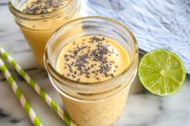 Mango och lucuma smoothie