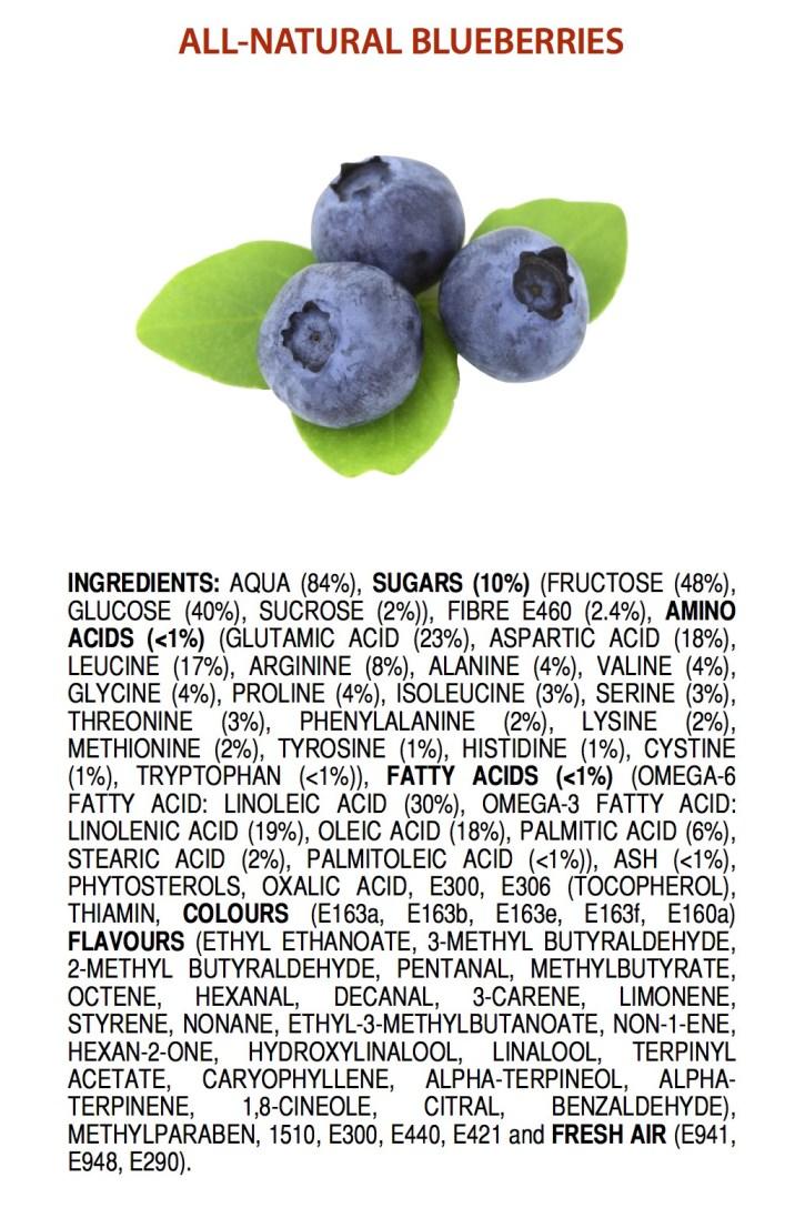 blåbär naturliga e-nummer
