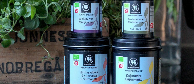 urtekram ekologiska kryddor