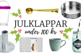30 julklappar under 100 kr + 5 personliga favoriter