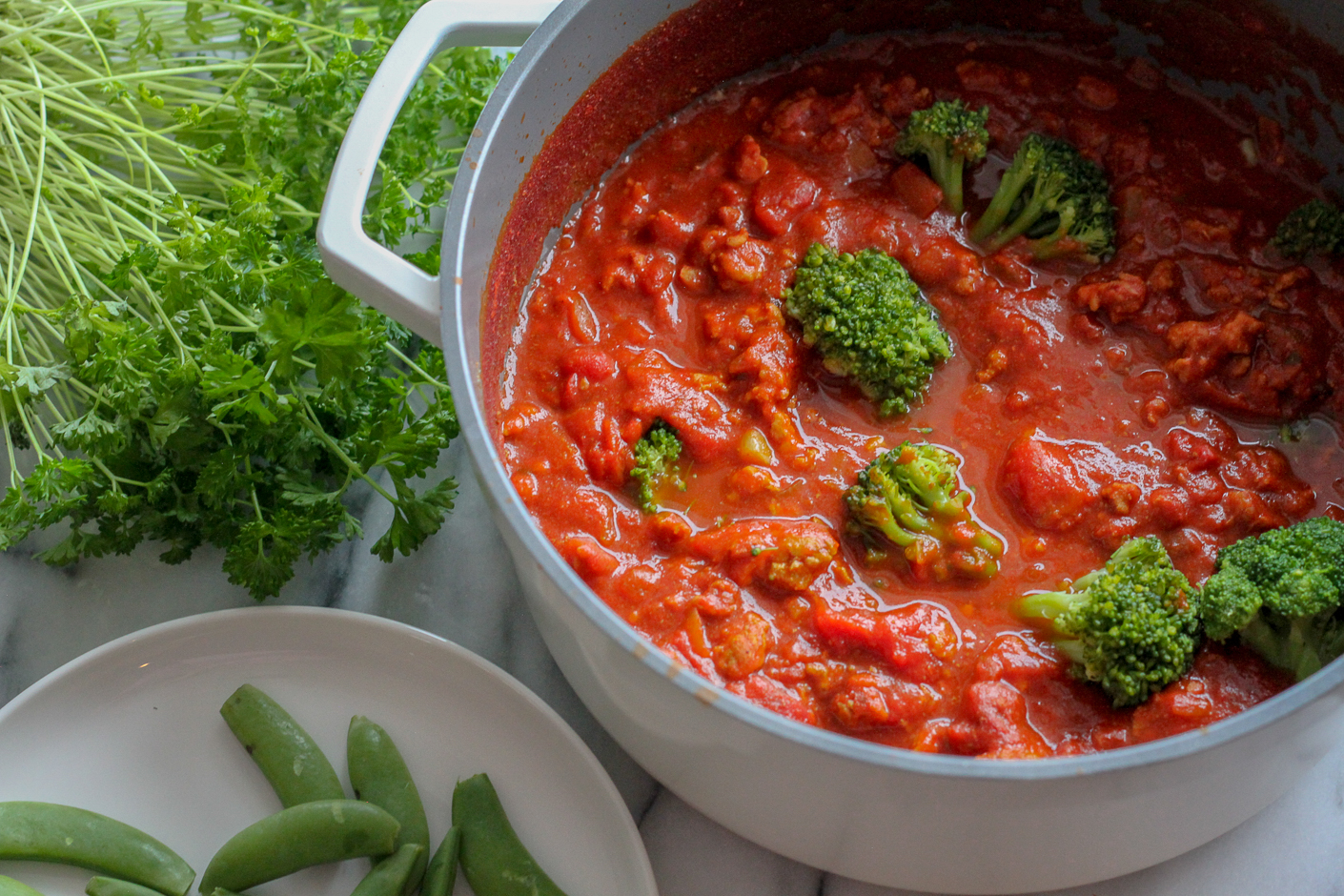 kycklinggryta med curry och tomat