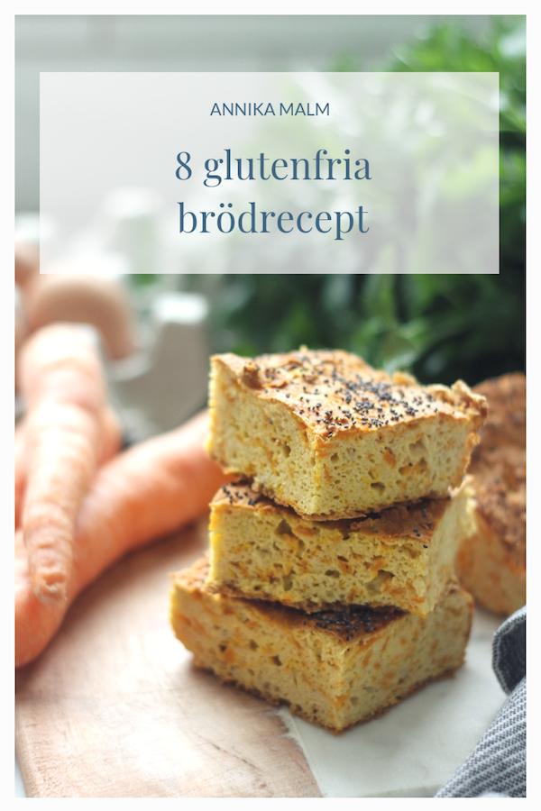 glutenfria brödrecept